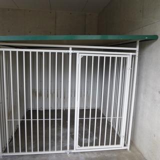 犬舎・8面サークルハウス(屋根、パネル付き)