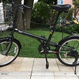 自転車 譲ります! 20インチ ブラック