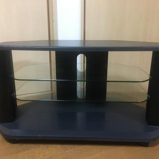 【激安】大きめテレビをしっかり置ける テレビ台 黒
