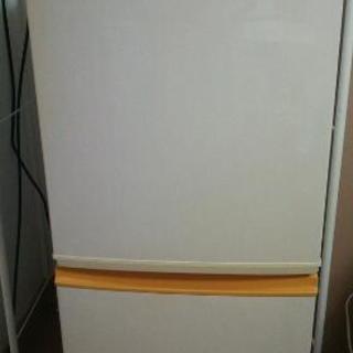 SHARP 冷蔵庫☆白×黄 135L *8/20〜22希望