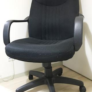 オフィスチェア黒 まだまだ使えます。