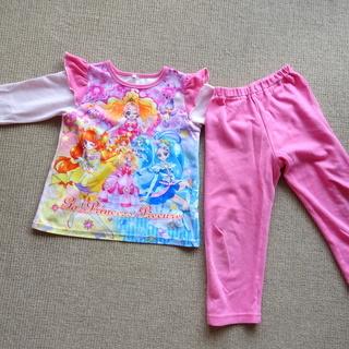 プリキュアのパジャマ上下セット 110cm ②