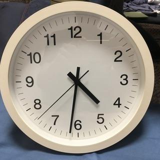 無印の掛け時計