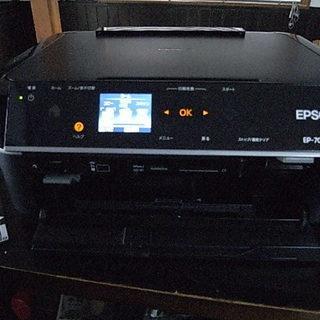 エプソン・プリンターEP-705A/黒/ジャンク