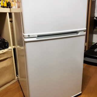 U-ING 冷蔵庫 2ドア 88L