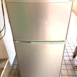 2ドア 109リットル 冷蔵庫