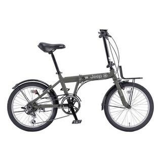JEEP 折りたたみ自転車 6段変速