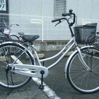 中古自転車32(防犯登録無料) タウンサイクル 26インチ ギヤな...
