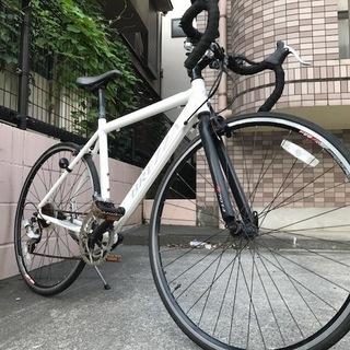 ☆ 格安ロードバイク ☆ 白 700c ギア2×7 14変速