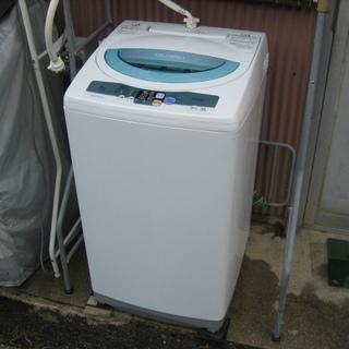 2009年 日立 コンパクトな5K全自動洗濯機 中古