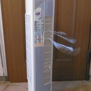 エアコンを購入したので、狭いところで最適なスリムファンを譲ります