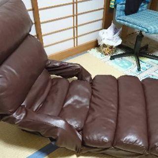 レザー調 ハイバック座椅子