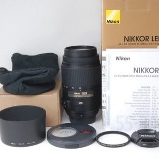 ◆新品同様☆超人気300mm超望遠◆ニコン Nikon AF-S ...