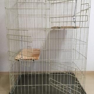 マルカン キャットフレンドルーム 組み立てゲージ 猫用ゲージ ペット