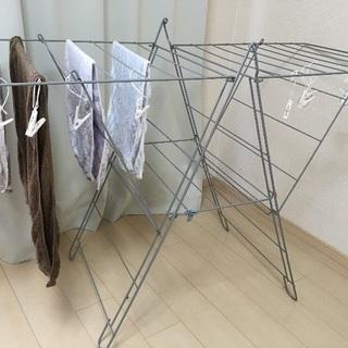 IKEA イケア FROST 物干しラック 室内/屋外用 ホワイト...