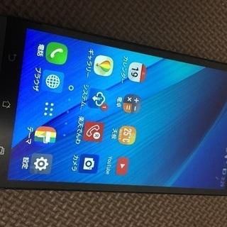 【美品】ASUS ZenFone GO ブルー