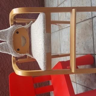《イスヤ工芸》子供いす ハイチェア +《IKEA》子供用チェアセット