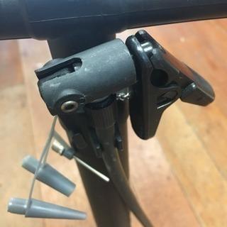 自転車空気入れ 種々アダプター付き