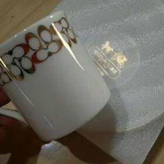 COACHのデミタスカップ
