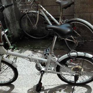 中古 やや難あり 降りたみ自転車