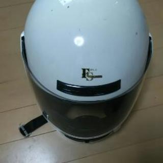 【無料】フルフェイスのヘルメットとハンドルカバー