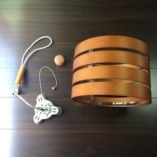 木製シーリングライト