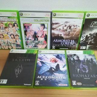 Xbox 360ソフトとwii ソフト、xbox 360ソフト他交...