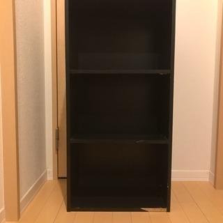 木製 カラーボックス 黒