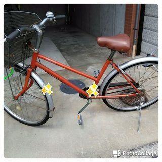 自転車 後ろタイヤほぼ新品