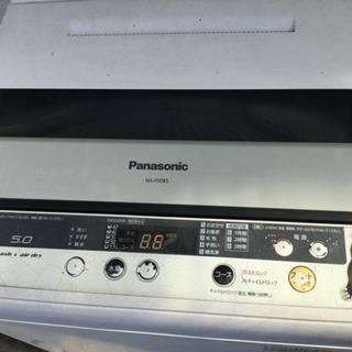 パナソニックの洗濯機 5キロ用