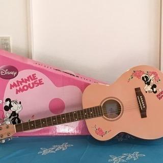 【中古】ディズニー ミニーマウス アコースティックギター