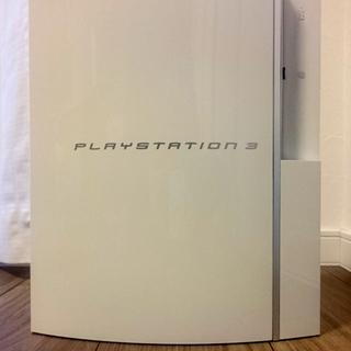 箱あり PS3本体白 コントローラー2個&ケーブル等セット