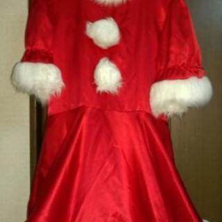 サンタドレス&帽子付きです❗