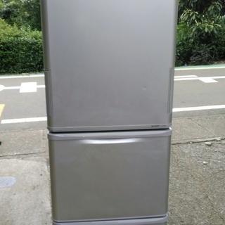 シャープ 両開き 350リッター冷蔵庫 2012年モデル SHAR...