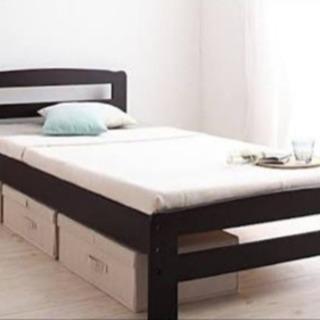 【美品】すのこ式シングルベッド