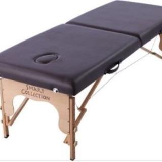 エステ用・軽量木製折りたたみベッド(耐荷重500kg)
