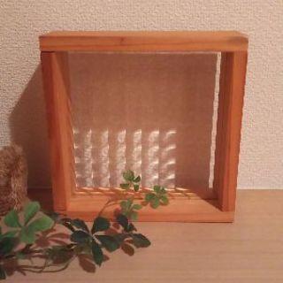 置き型 ガラスシェルフ カントリー✨ナチュラルインテリアに