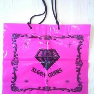 ALGON QUINS ショップ袋