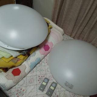 シーリングライト NEC ナショナル 2個 室内灯