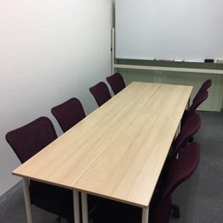 貸し会議室に使える駅近のお部屋を探しています