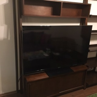 テレビボード&飾棚