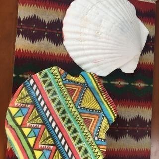 日野で体験💕オリジナル貝殻プレート...
