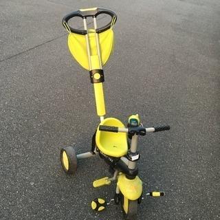 三輪車 イエロー