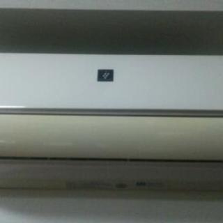 2012年製~17畳SHARPプラズマクラスター付エアコン
