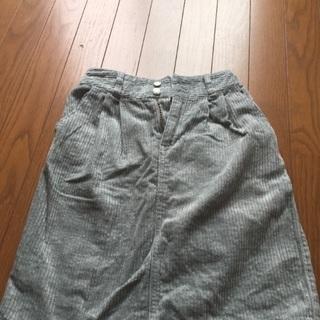 コーデュロイ nice claup スカート