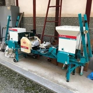 農機具自動播種機ブルーきんぱ
