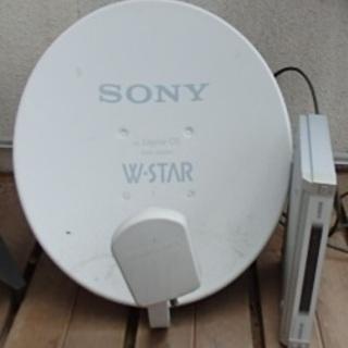 SONY デジタルCS放送チューナー DST-SP5 アンテナセット