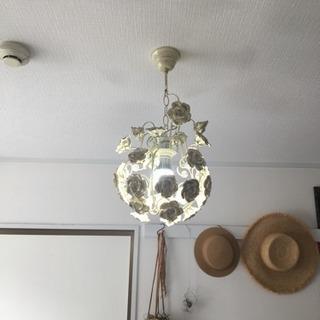 アンティークバラ照明