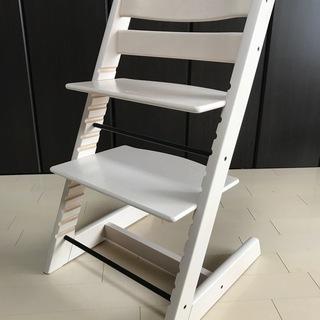 子供椅子■トリップトラップ■ホワイ...