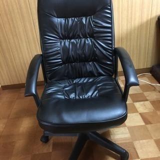 事務椅子  油圧式  リクライニングOK